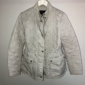 Coach Jackets & Coats - Off white COACH quilted jacket size small
